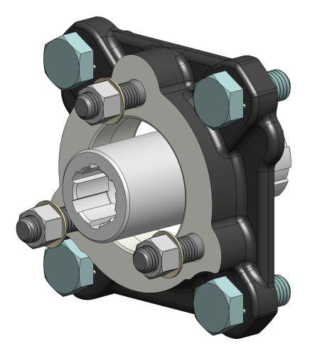 Hydraulic pumps binotto for Hydraulic pump motor adapter